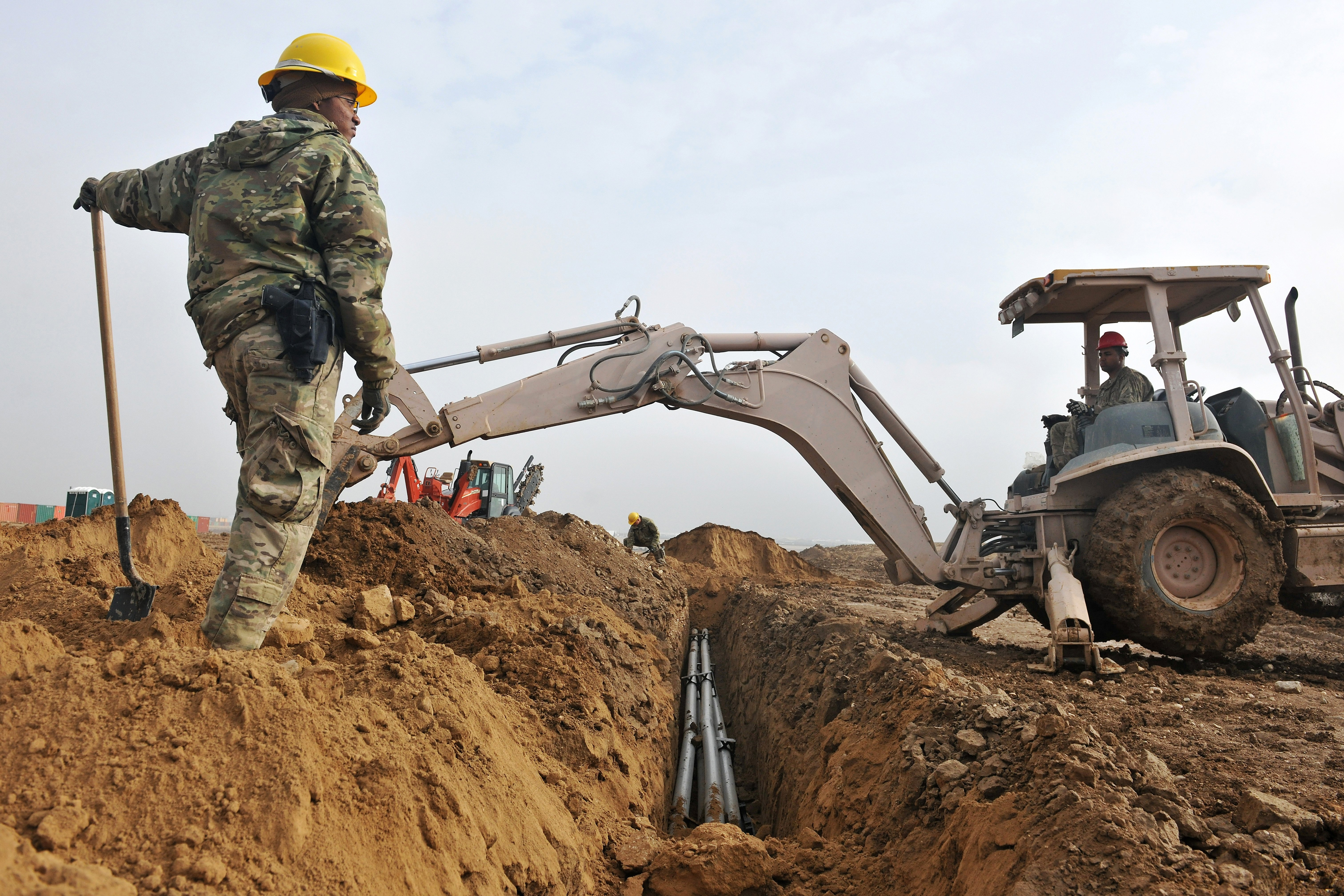 Trenching and excavation are extremely hazardous work