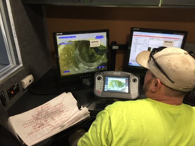 Sewer Inspection Computer Station