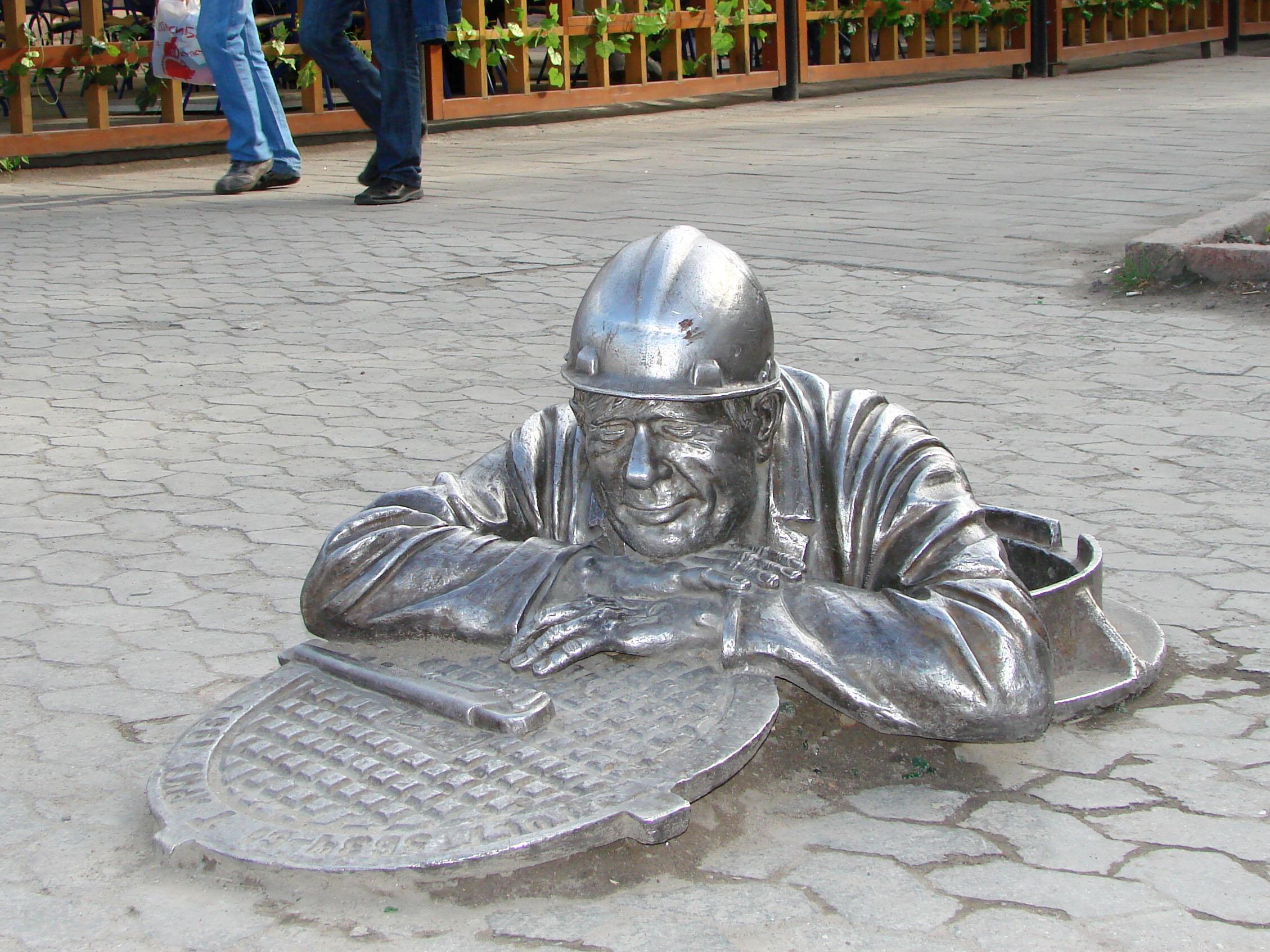 Public Works Sculpture