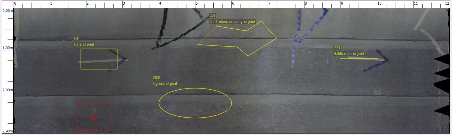 CleverScan Manhole Wall Scan