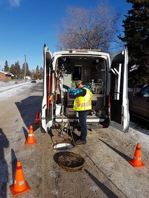 City of Red Deer Employee Uses ROVVER X