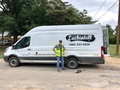 Luckinbill, Inc.'s work truck