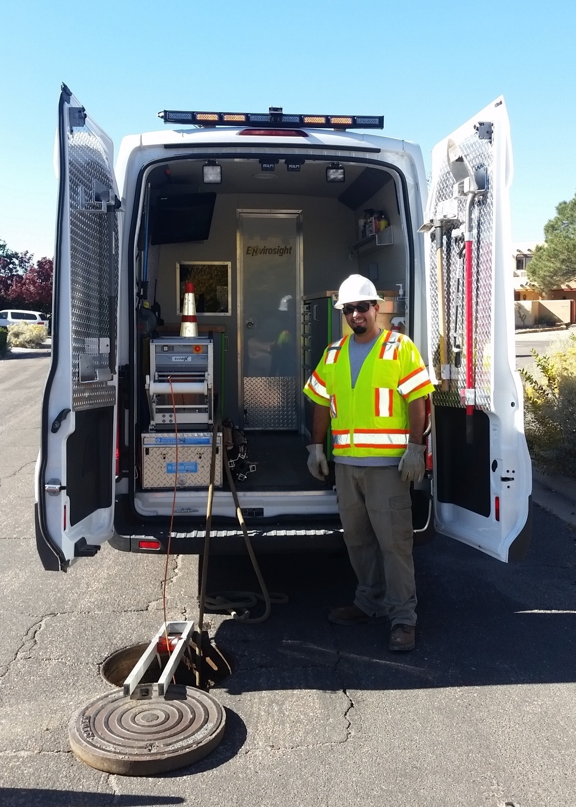 City of Santa Fe Sewer Inspection