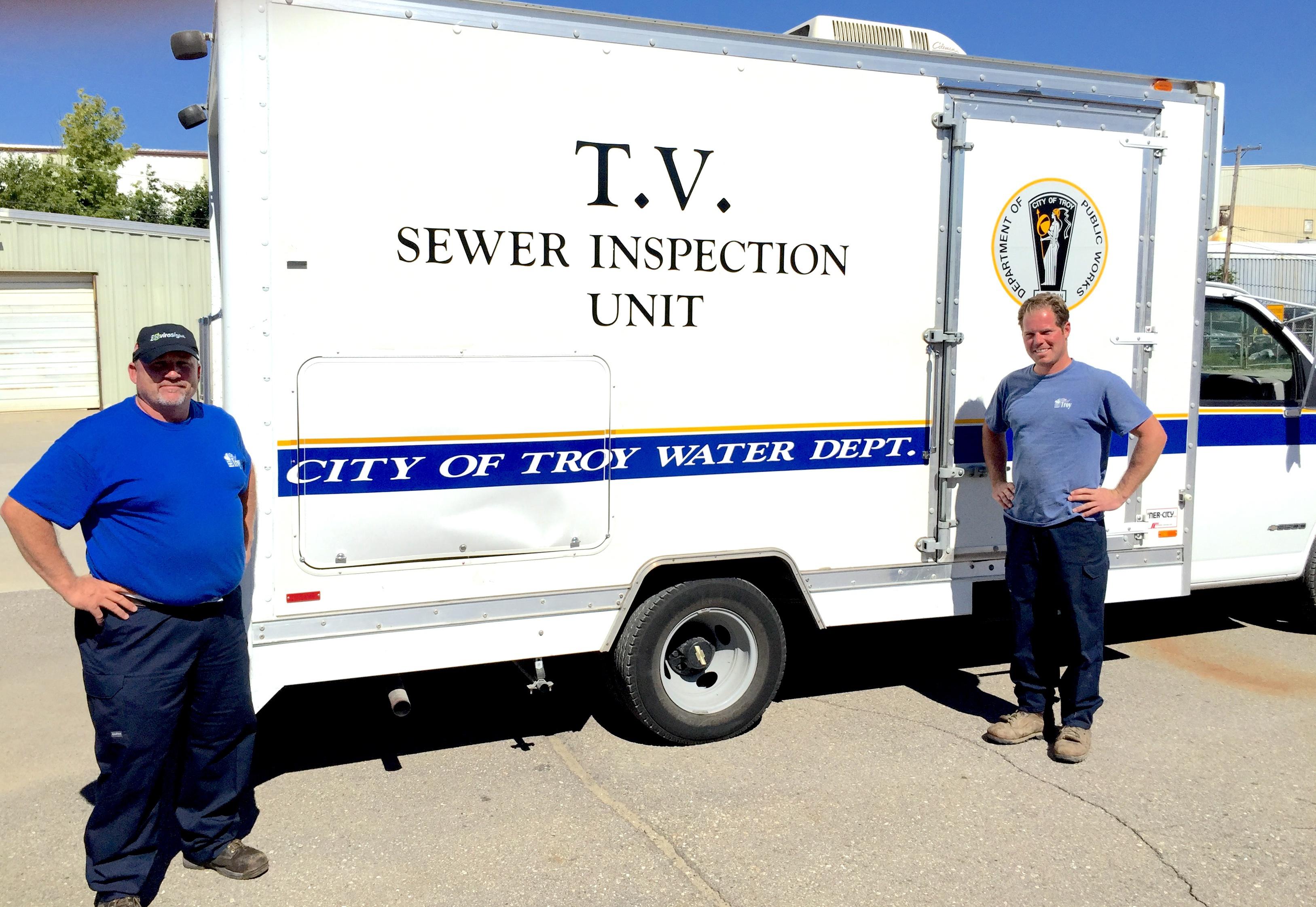 Troy, Mi Envirosight Sewer Inspection Truck