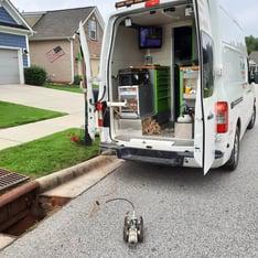 ROVVER X sewer inspection crawler Carolina's Underground