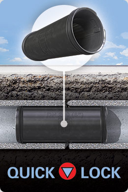 Quick-Lock Trenchless Point Repair