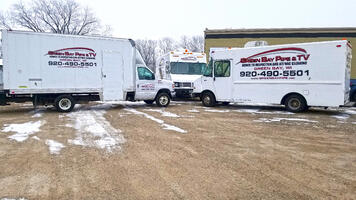 Green Bay Pipe Inspection Vehicles