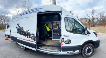 Quality Pipe Cleaning Envirosight Van