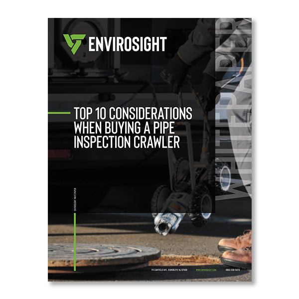 Buying a pipe inspection crawler