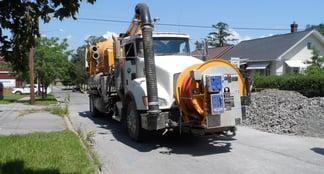 Cleaning Truck WBRA