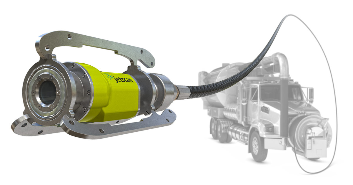 Jetscan HD Video Nozzle for Sewer Cleaning Trucks