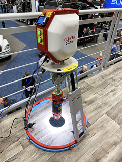 CleverScan on the Envirosight Mezzanine at WWETT 2020