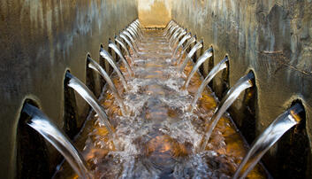 Microplastics are not always filtered out at water treatment plants