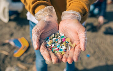 Wastewater as an avenue for microplastics