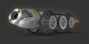 ROVVER X Sewer Inspection Crawler