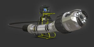 Verisight Pro Push Camera for Drain and Lateral Inspection