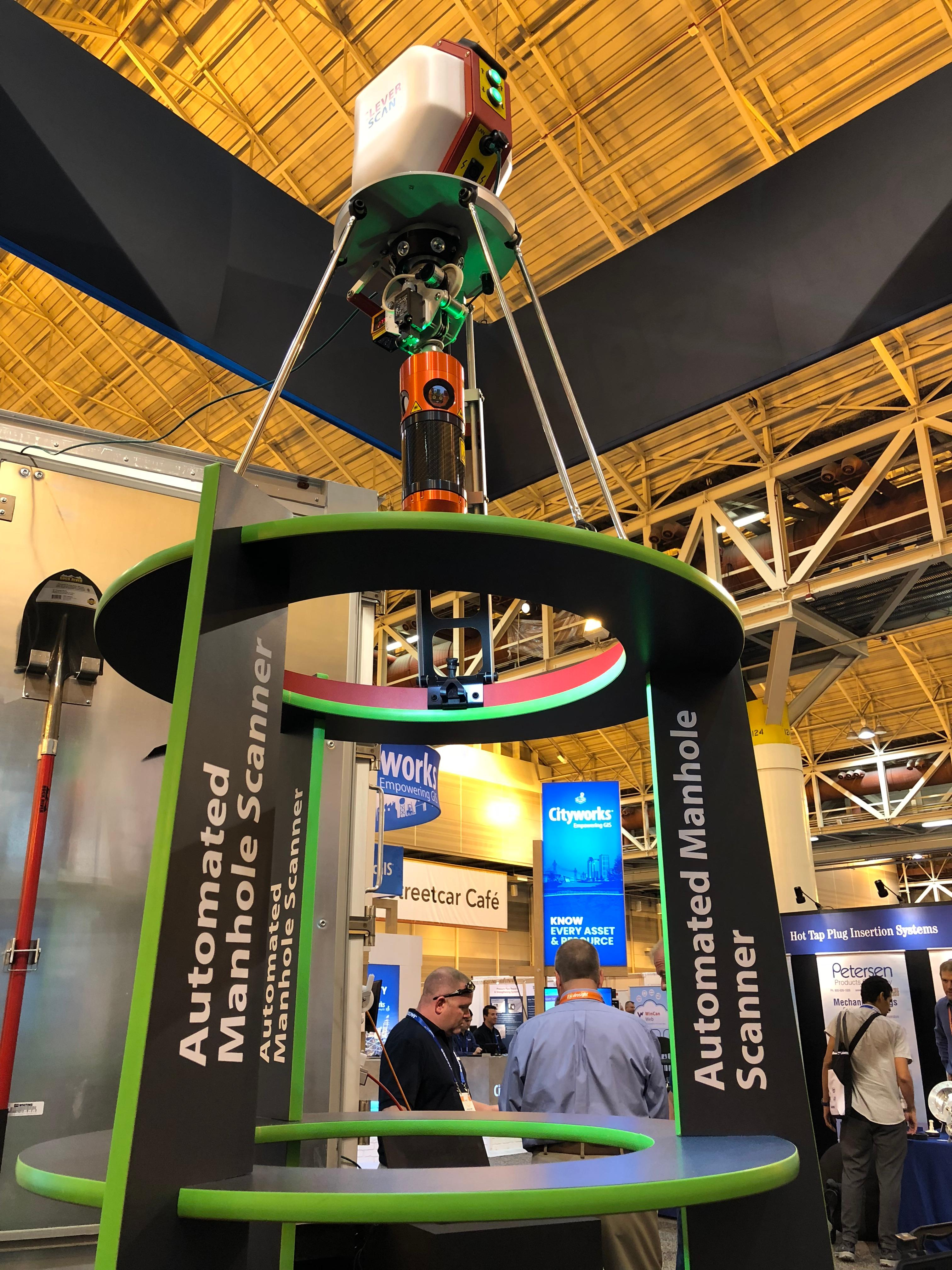 CleverScan at WEFTEC 2018