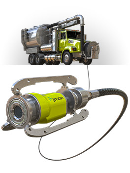 Jetscan HD Video Nozzle for Sewers