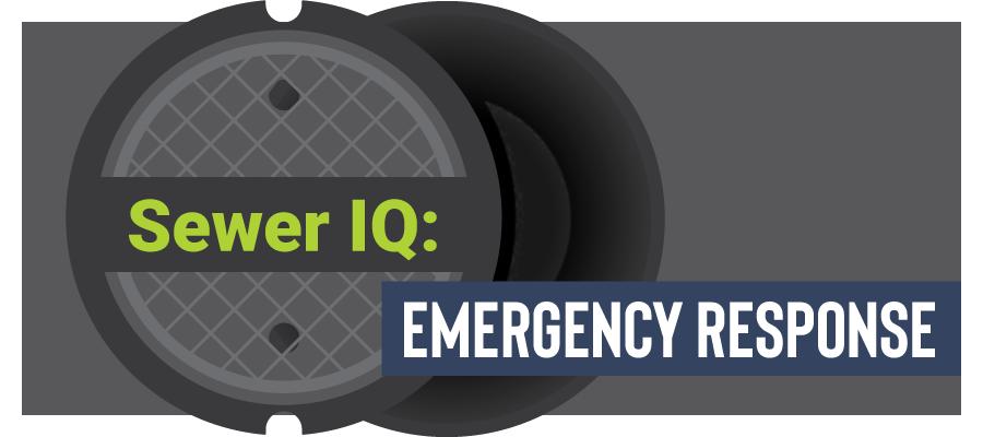 Sewer IQ Quiz Emergency Response