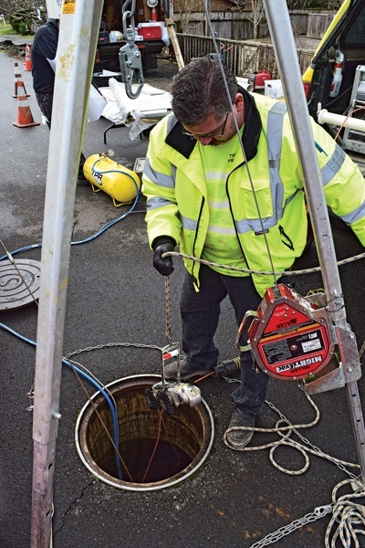 Trenchless Pipe Repairs